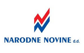 Slika prikazuje logo firme Narodne novine