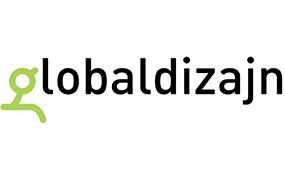 Slika predstavlja logo firme Global dizajn