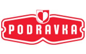 Slika predstavlja logo firme Podravka