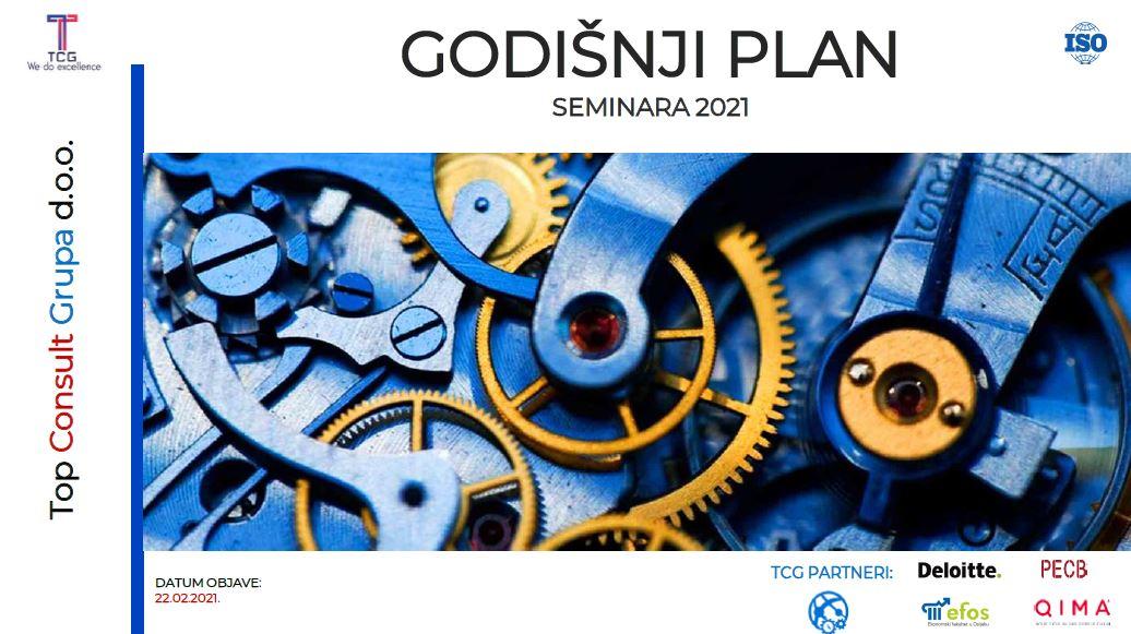 Objavljujemo naš godišnji plan edukacija za interne i Lead auditore za 2021.g.